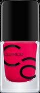 Лак для ногтей ICONails Gel Lacquer Catrice 01 All pinklisive малиновый: фото