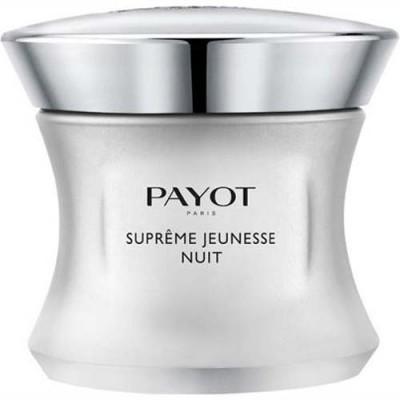 Ночной крем для лица и шеи с непревзойденным омолаживающим эффектом Payot Supreme Jeunesse 50 мл: фото