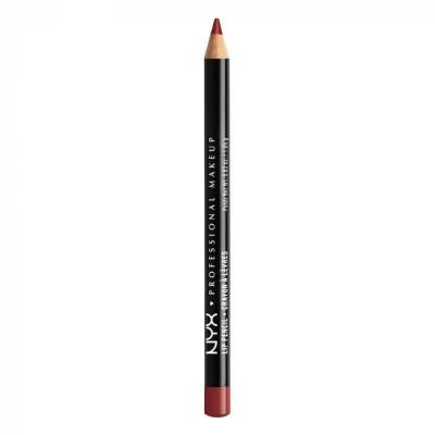 Карандаш для губ NYX Professional Makeup Slim Lip Pensil - AUBURN 801: фото