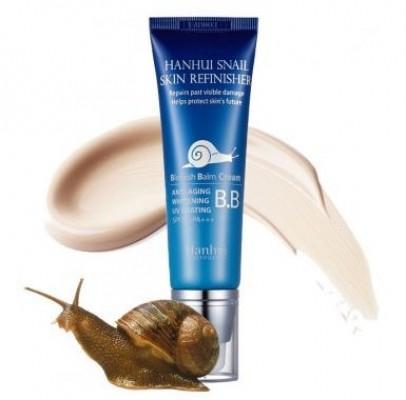 ВВ-крем с муцином улитки BERGAMO snail skin refinisher esential BB-cream SPF50 50мл: фото