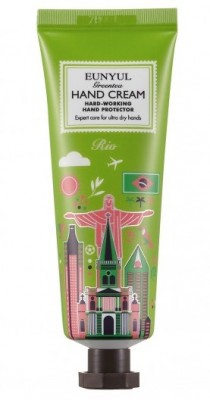 Крем для рук с экстрактом зеленого чая Рио EUNYUL Green tea hand cream 50 г: фото
