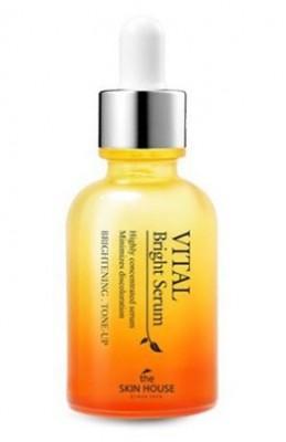 Сыворотка ампульная витаминизированная осветляющия THE SKIN HOUSE Vital bright serum ampoule 30мл: фото