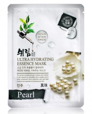 Маска тканевая с экстрактом жемчуга Shelim Ultra Hydrating Essence Mask Pearl 25 мл: фото