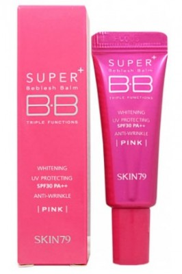 ВВ-крем SKIN79 Super plus beblesh balm triple functions SPF30 Hot Pink 7г: фото