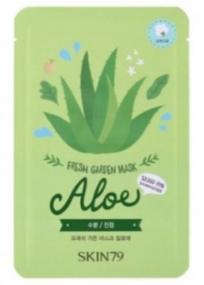 Тканевая маска с алоэ SKIN79 Fresh garden mask aloe 23 г: фото