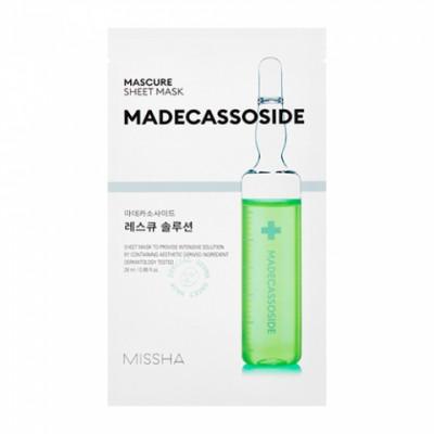 Маска тканевая восстанавливающая MISSHA Mascure Rescue Solution Sheet Mask 27мл: фото