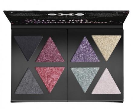 Палетка теней CATRICE The Glitterizer Mix N Match Eyeshadow Palette 010 Glitter Is My Favourite Colour: фото