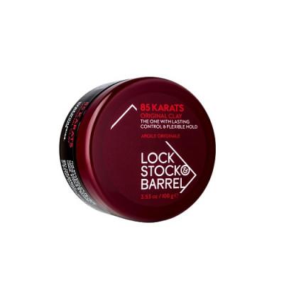 Глина матовая для густых волос Lock Stock&Barrel 85 КАRАТS 100г: фото