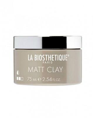 Паста структурирующая и моделирующая для матовых образов La Biosthetique Style Matt Clay 75мл: фото