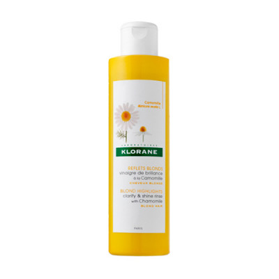Кондиционер-ополаскиватель для сияния светлых волос с Ромашкой Klorane Blond hair 200 мл: фото