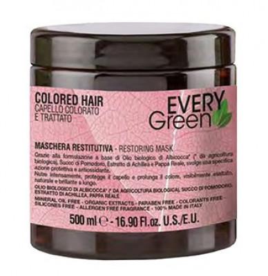 Маска для окрашеных волос Dikson COLORED-HAIR MASHERA PROTETTIVO 500мл: фото