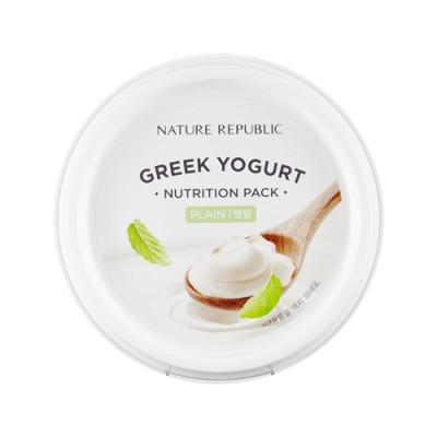 Маска йогуртовая питательная NATURE REPUBLIC GREEK YOGURT PACK_PLAIN NUTRITION 130мл: фото