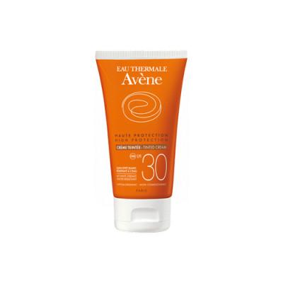 Солнцезащитный крем с тонирующим эффектом SPF30 Avene Suncare 50 мл: фото