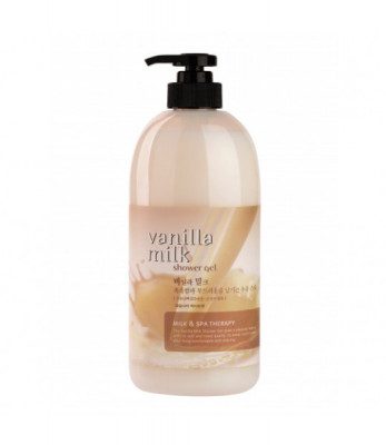 Гель для душа Welcos Body Phren Shower Gel Vanilla Milk 730мл: фото