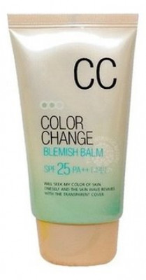 СС крем Welcos Lotus Color Change Blemish Balm 50мл: фото