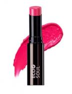 Помада увлажняющая сияющая THE SAEM Eco Soul Moisture Shine Lipstick PF01 Hadong pink 5,5гр: фото