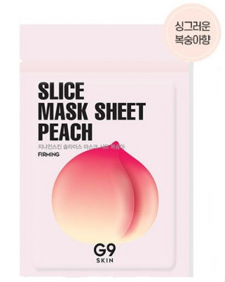 Маска-слайс для лица тканевая Berrisom G9SKIN Slice Mask Sheet Peach 10мл: фото