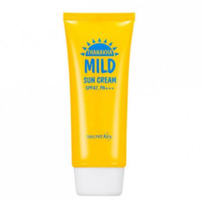 Крем мягкий солнцезащитный SECRET KEY Thanakha Mild Sun Cream SPF47,PA+++ 100гр: фото