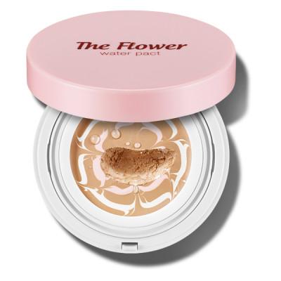 Основа под макияж увлажняющая SECRET KEY The Flower water pact 02 Natural Beige 15г: фото
