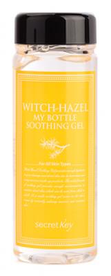 Гель для тела с экстрактом гамамелиса Secret Key Witch-hazel My Bottle Soothing Gel 245гр: фото