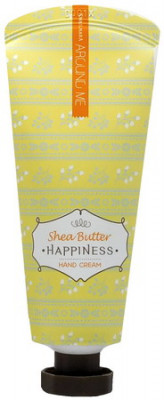 Крем для рук Welcos Around me Happiness Hand Cream Shea Butter 60г: фото