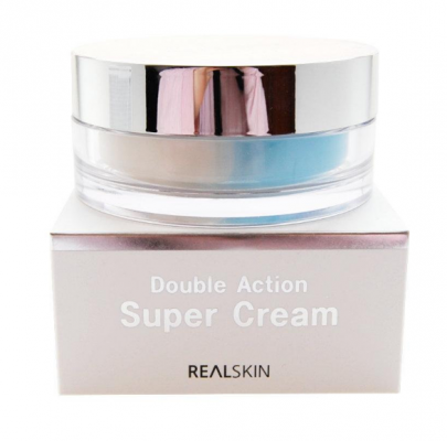 Крем для лица ДВОЙНОЙ REALSKIN Double Action Super Cream, 100 гр: фото