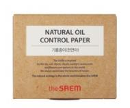 Салфетки матирующие THE SAEM Natural Oil Control Paper 50шт: фото