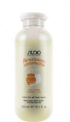 Бальзам для всех типов волос Молоко и Мед Kapous Aromatic Symphony Milk Honey 350 мл: фото
