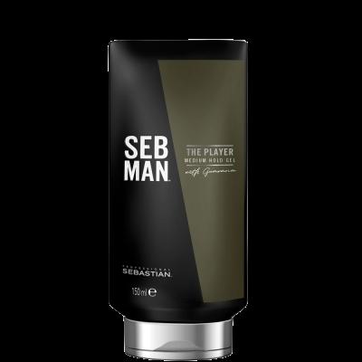 Гель для укладки волос средней фиксации SEB MAN THE PLAYER 150 мл: фото