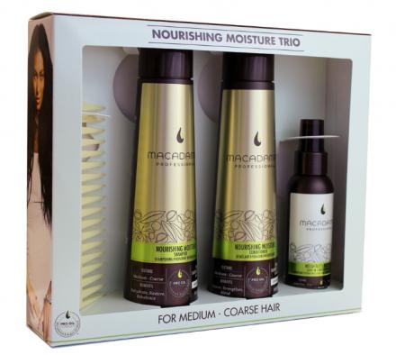 Набор Трио Питание и увлажнение Macadamia Nourishing Moisture Trio Set: фото