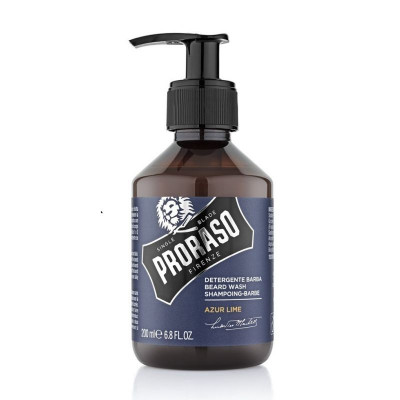 Шампунь для бороды PRORASO Azur Lime 200мл: фото