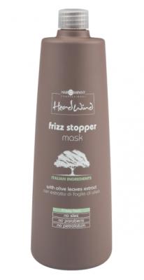 Маска разглаживающая Hair Company HEAD WIND FRIZZ STOPPER MASK 1000мл: фото