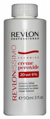 Кремообразный окислитель Revlon Professional Creme Peroxide 20 VOL 6% 90мл: фото