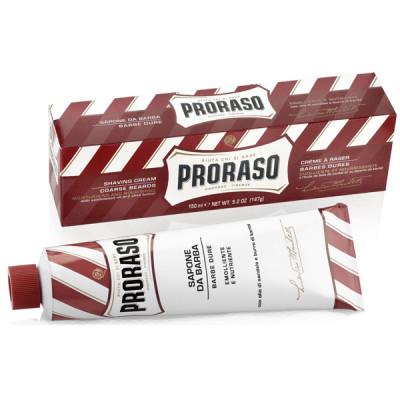 Крем для бритья питательный PRORASO Sandal 150 мл: фото