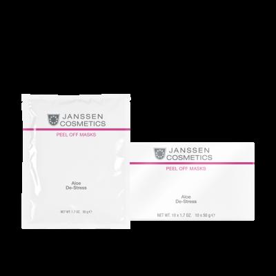 Уcпокаивающая маска с алоэ и спирулиной Janssen Cosmetics Aloe De-Stress 30г: фото