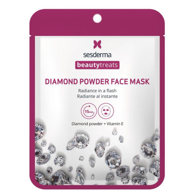 Маска для сияния кожи Sesderma BEAUTYTREATS Diamond powder face mask 22мл: фото