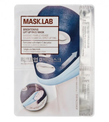 Маска для лица осветляющая The Face Shop Mask.Lab Brightening Lift-up Face Mask: фото