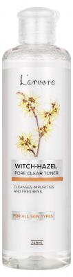 Тонер с гамамелисом для сужения пор L'arvore Witch-Hazel Pore Clear Toner 248 мл: фото