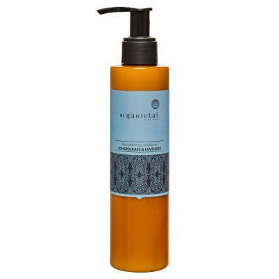 Кондиционер для волос с лемонграссом и лавандой ORGANIC TAI Strengthening Conditioner Lemongrass & Lavender 200 мл: фото