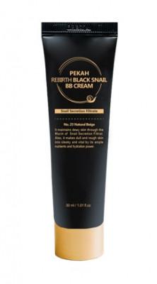 BB-крем с муцином черной улитки PEKAH Rebirth Black Snail BB Cream тон23 30мл: фото