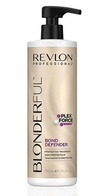 Средство для защиты волос после обесцвечивания Revlon Professional BLONDERFUL BOND DEFENDER 750мл: фото