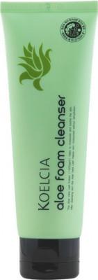 Пенка очищающая успокаивающая с экстрактом алоэ KOELCIA Aloe Foam Cleanser 120г: фото