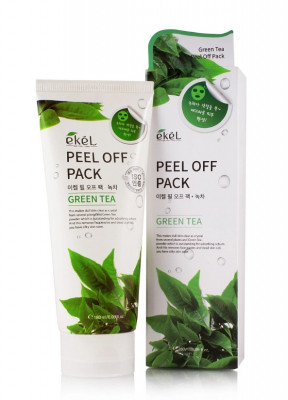 Маска-пленка с экстрактом зеленого чая Ekel Peel Off Pack Green Tea 180 мл: фото