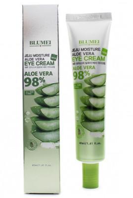 Крем для век с Алоэ Blumei Jeju Moisture Aloe Vera 98% Eye Cream 40 мл: фото